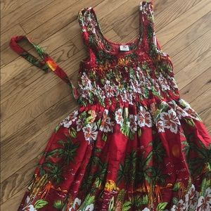 Dresses & Skirts - Caribbean print sundress